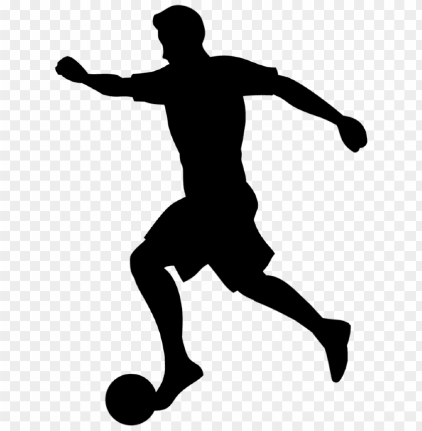 free PNG footballer silhouette png - Free PNG Images PNG images transparent