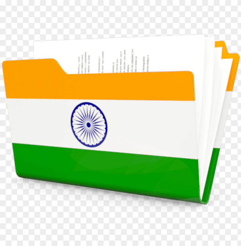 free PNG for indian flag icons windows - india flag folder icon png - Free PNG Images PNG images transparent