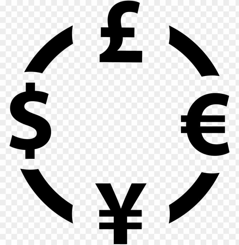 Foreign Currency Exchange Svg Icon Free