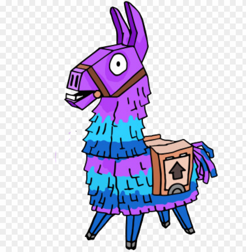 Fortnite Llama Png Transparent Library Fortnite Llama Drawi Png Image With Transparent Background Toppng