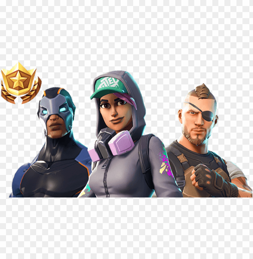 free PNG fortnite players spend $300 million a month on 'free' - fortnite season 4 characters PNG image with transparent background PNG images transparent