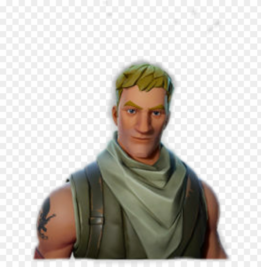 free PNG fortnite sticker - blonde hair default fortnite PNG image with transparent background PNG images transparent