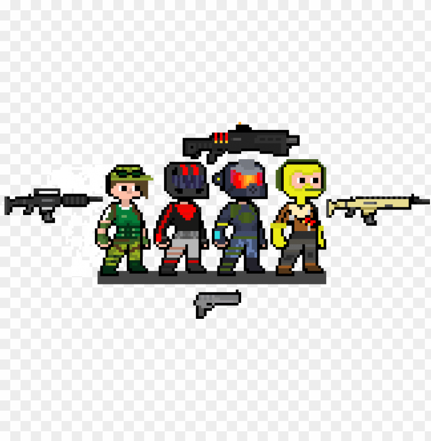 fortnite story - pixel art fortnite rouge PNG image with transparent background@toppng.com