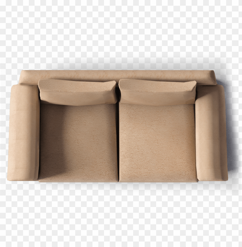 free PNG fothult 2 seat sofa top - two seater sofa top view PNG image with transparent background PNG images transparent