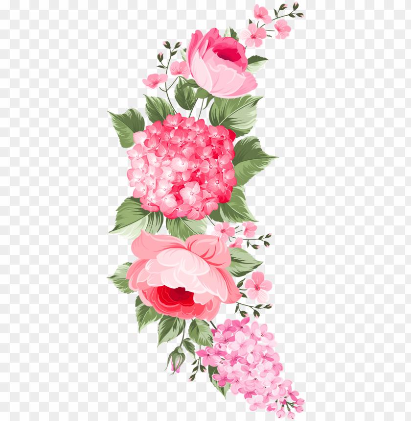free PNG Фото, Автор olga-schefer2011 На Яндекс - vintage flowers label PNG image with transparent background PNG images transparent