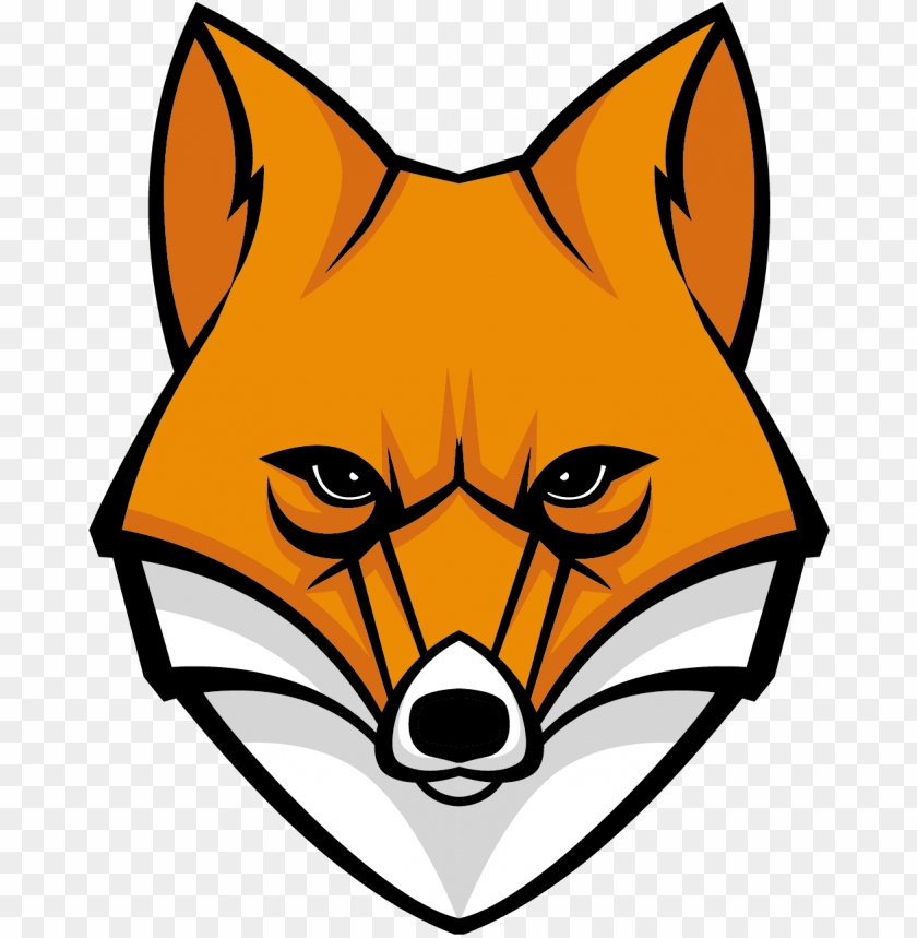 Fox Clipart Png Image Fox Head Cartoon Png Image With Transparent Background Toppng