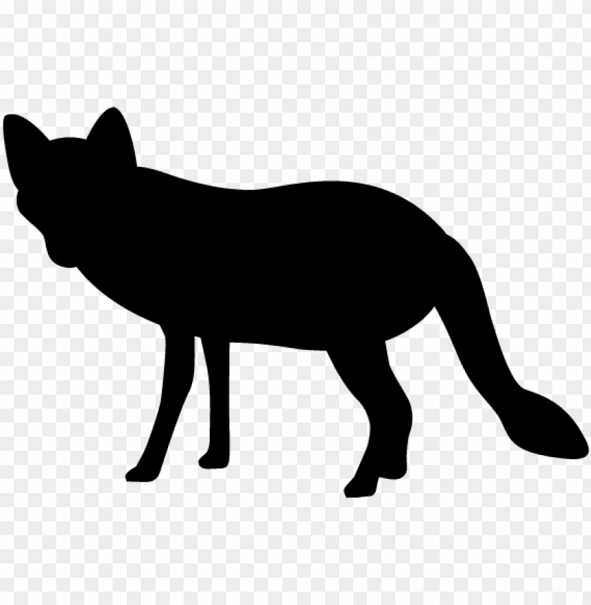 Fox Silhouette Animals Illustration Nj ·ルエット Õリー Ç´æ Png Image With Transparent Background Toppng Fox face silhouette at getdrawings   free download. fox silhouette animals illustration