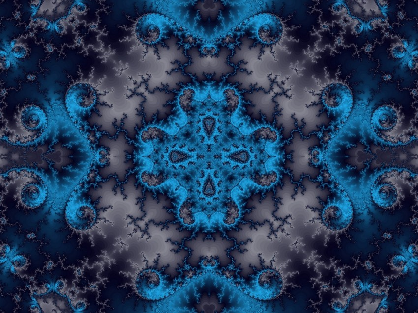 free PNG fractal, kaleidoscope, symmetry, abstraction, digital background PNG images transparent