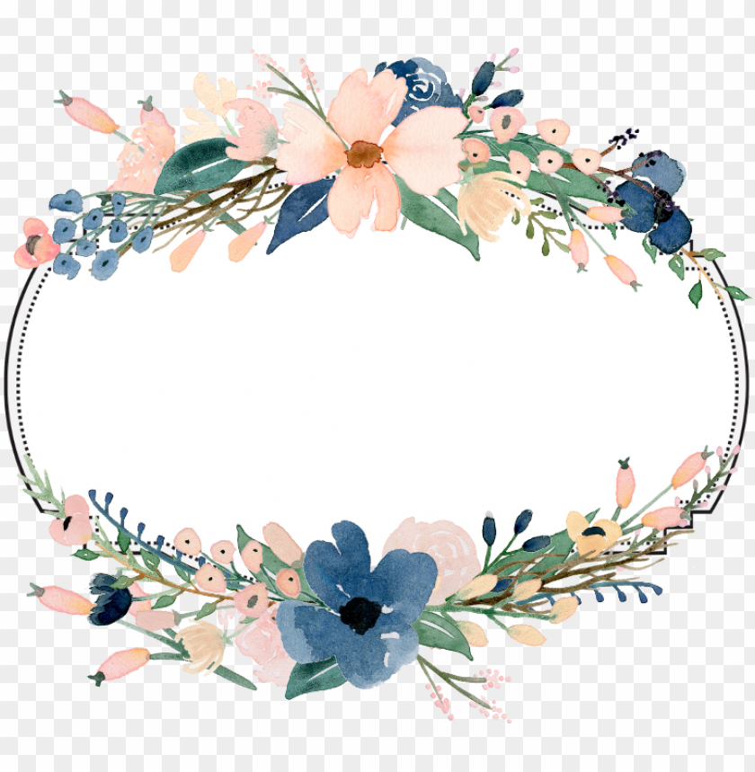 free PNG frame banner flowers floral ftestickers - cute congratulations PNG image with transparent background PNG images transparent