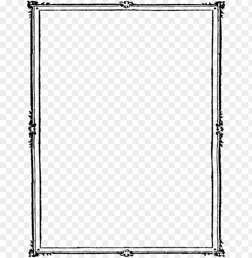 free PNG frame border  black PNG image with transparent background PNG images transparent