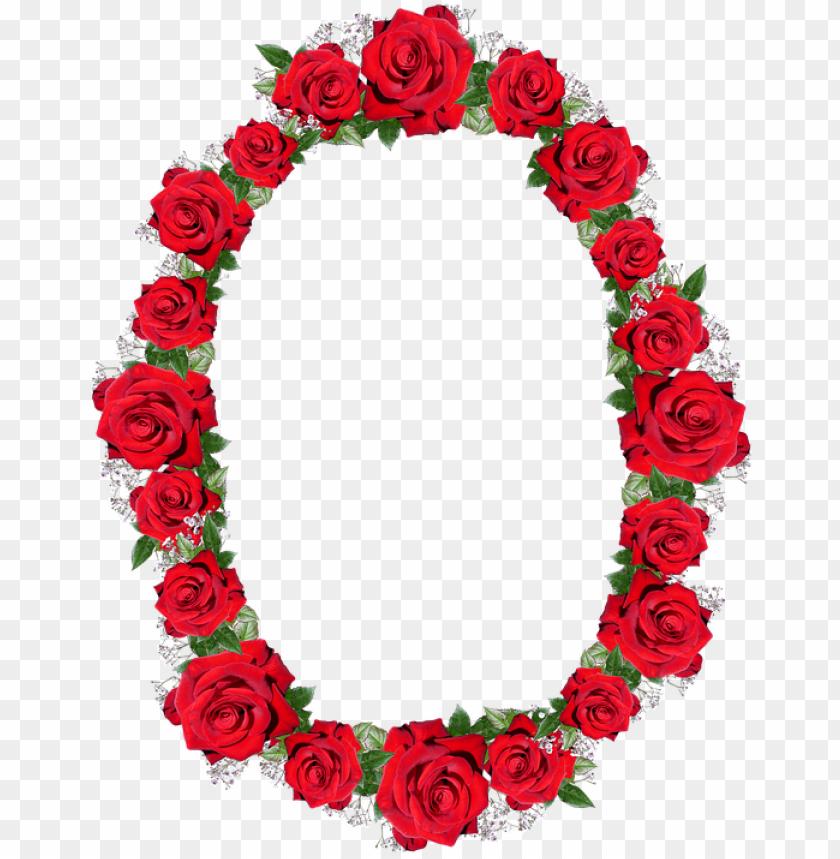 free PNG frame, border, red, roses, floral PNG image with transparent background PNG images transparent