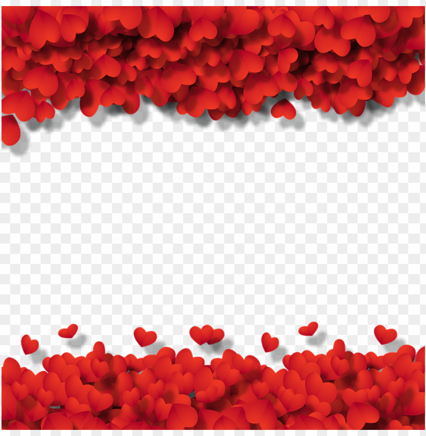Frame Heart Wallpaper Background Love Heart Pointsettias