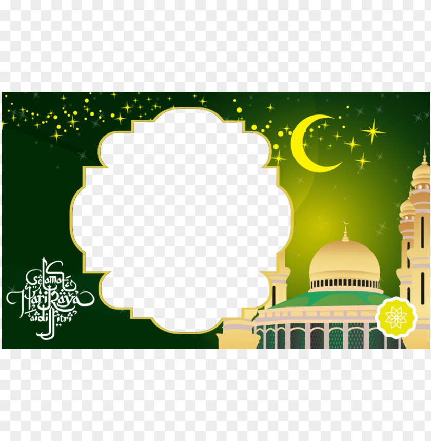 free PNG frame selamat hari raya aidilfitri PNG image with transparent background PNG images transparent