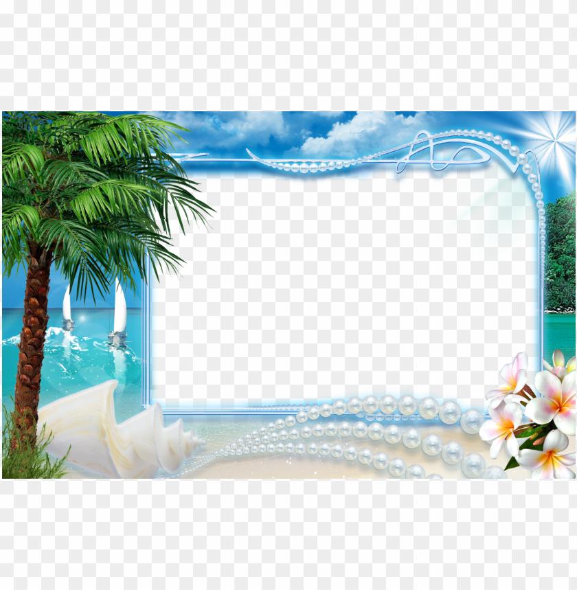 free PNG frames beach season imagens para photoshop png photoshop - beach photo frames PNG image with transparent background PNG images transparent