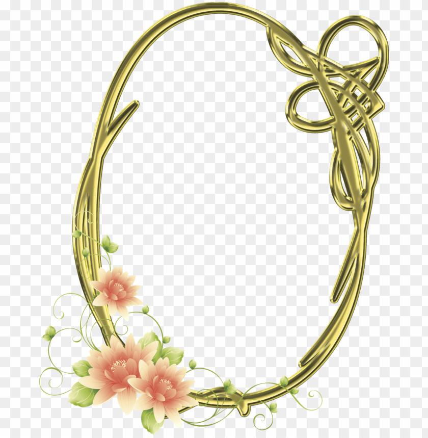 free PNG frames png oval com flores imagens para photoshop - moldura png oval para PNG image with transparent background PNG images transparent