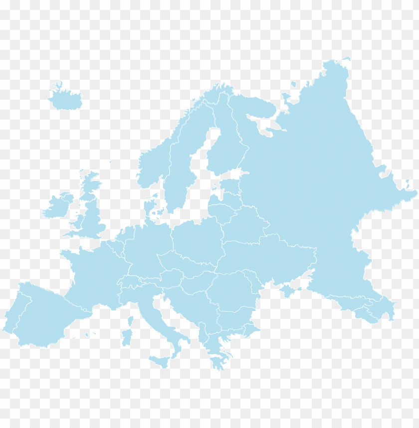 free PNG france, europe continent world colorful color pain - map europe vector detailed PNG image with transparent background PNG images transparent