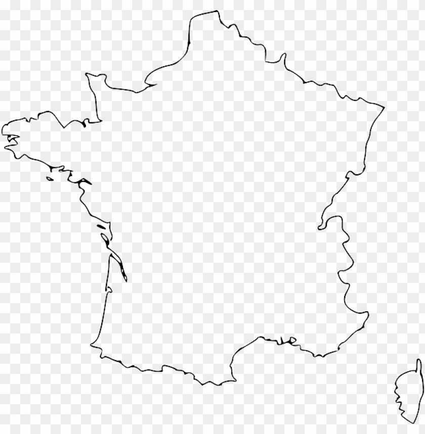france map vector free PNG image with transparent background ...