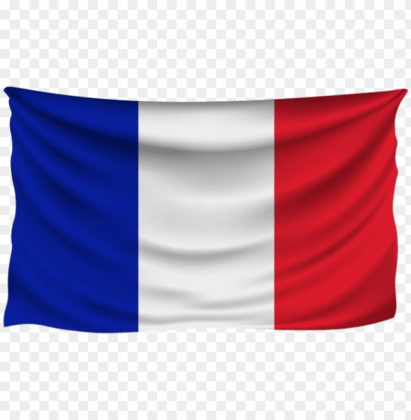 Download france wrinkled flag clipart png photo  @toppng.com
