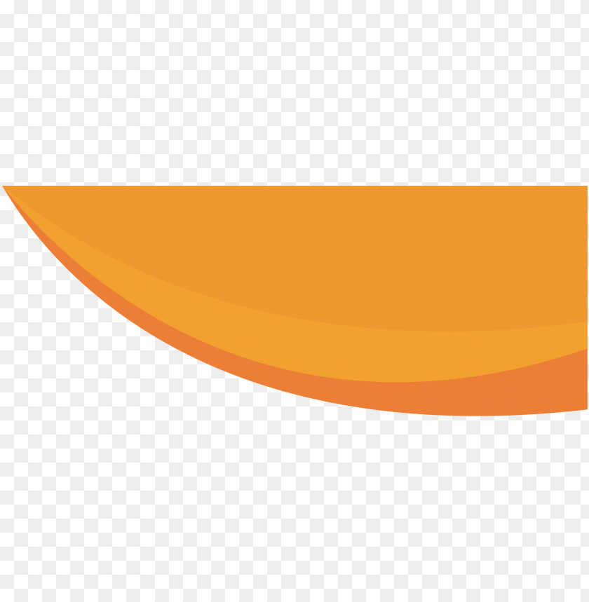 free PNG franjas naranjas para web arriba - circle PNG image with transparent background PNG images transparent