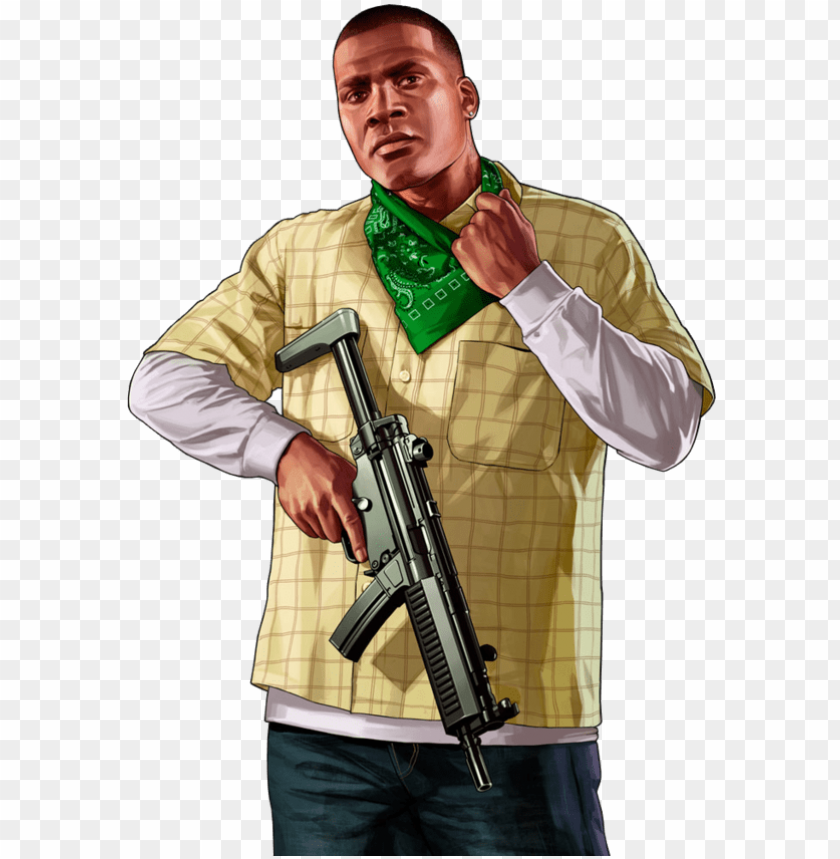 free PNG franklin gta v png - gta 5 characters drawi PNG image with transparent background PNG images transparent