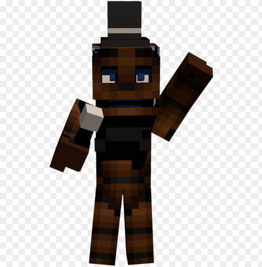 free PNG freddy fazbear photo - minecraft en 4d PNG image with transparent background PNG images transparent
