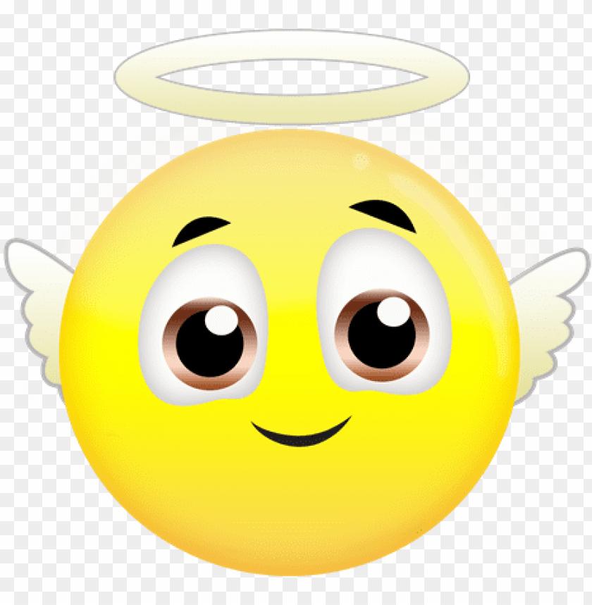 free PNG free angel emoji - angel emojis PNG image with transparent background PNG images transparent
