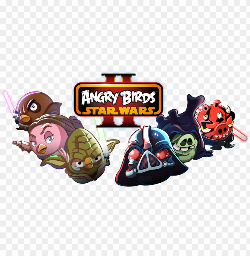 Free Angry Birds Star Wars Characters Yoda Pc Game Angry Birds Star Wars Version 2 Png Image With Transparent Background Toppng