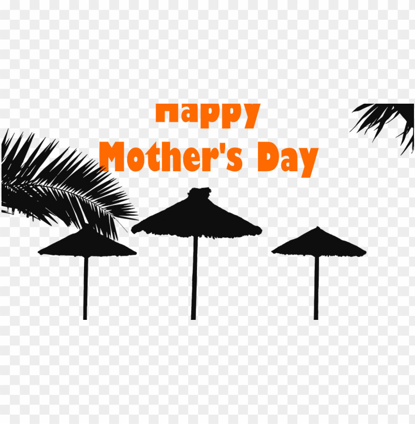 free PNG free beach themed mother's day~ the beach - beach silhouette PNG image with transparent background PNG images transparent