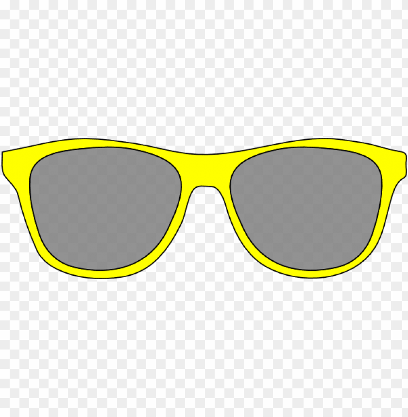 free PNG free cartoon download clip art on yellow - clip art yellow sunglasses PNG image with transparent background PNG images transparent