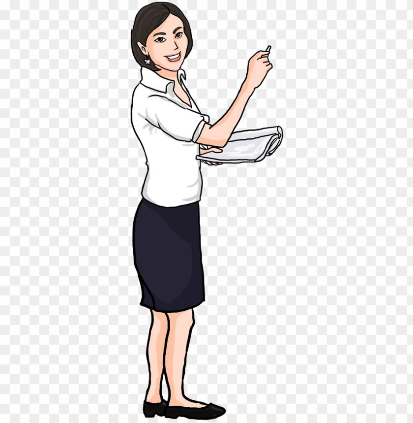 Teacher And Student Free Clip Art Transparent Png - Clipart Teachers And  Student, Png Download - kindpng