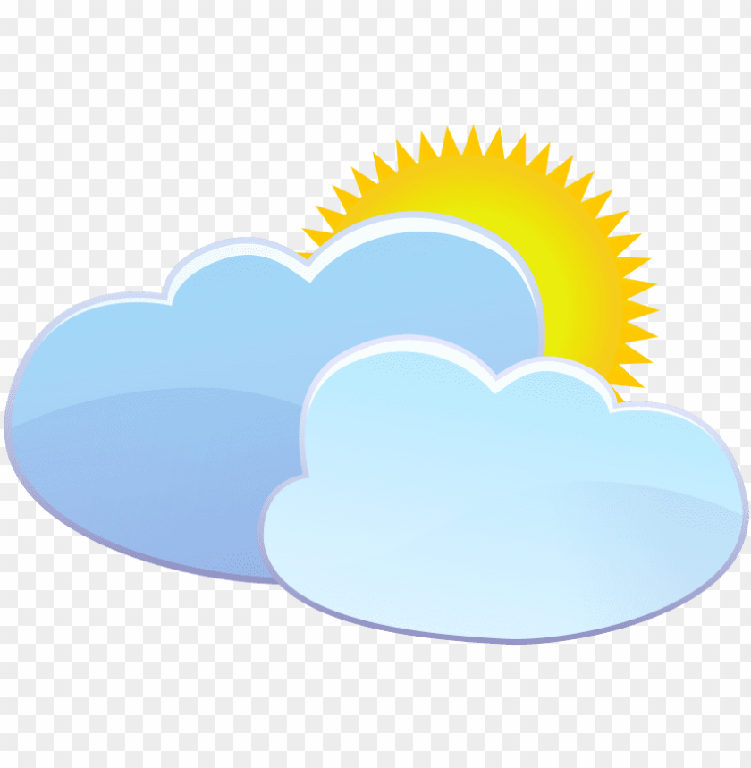 free PNG free  clouds and sun weather icon s transparent - sun weather icon png - Free PNG Images PNG images transparent
