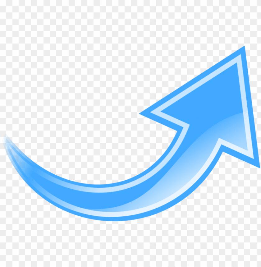 free PNG free download blue curved arrow png clipart arrow clip - blue arrow curve u PNG image with transparent background PNG images transparent