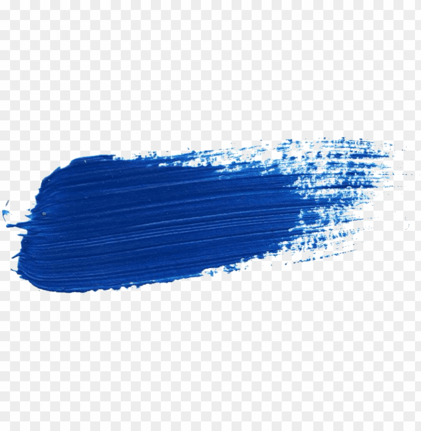 Free Download Blue Paint Brush Stroke Png Image With Transparent Background Toppng
