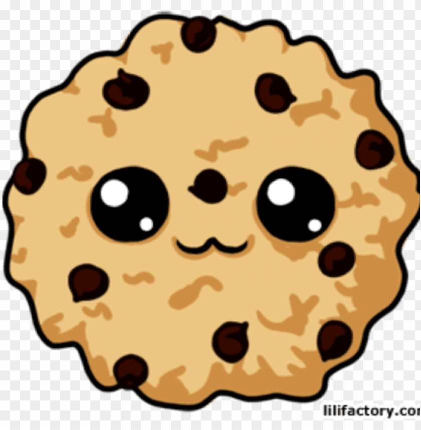 Free Download Cookie Kawaii Clipart Chocolate Chip Chocolate Chip Cookies Cartoo Png Image With Transparent Background Toppng