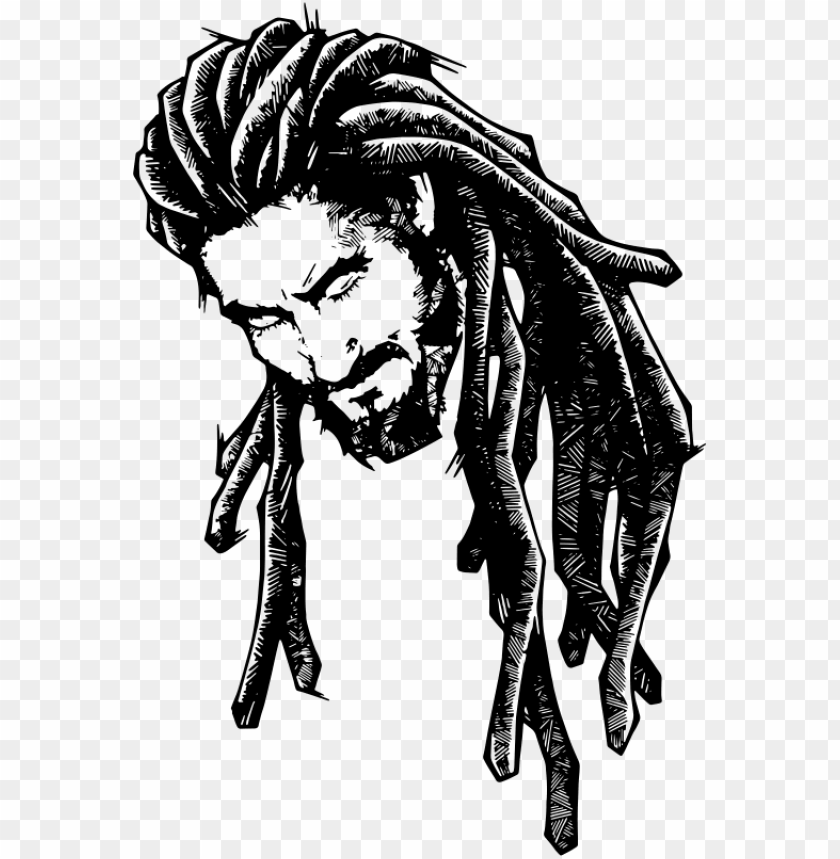 free PNG free download dreadlocks art clipart dreadlocks drawing - rasta drawings PNG image with transparent background PNG images transparent
