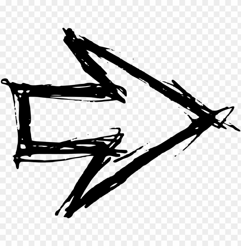 free PNG free download - hand drawn arrow transparent PNG image with transparent background PNG images transparent