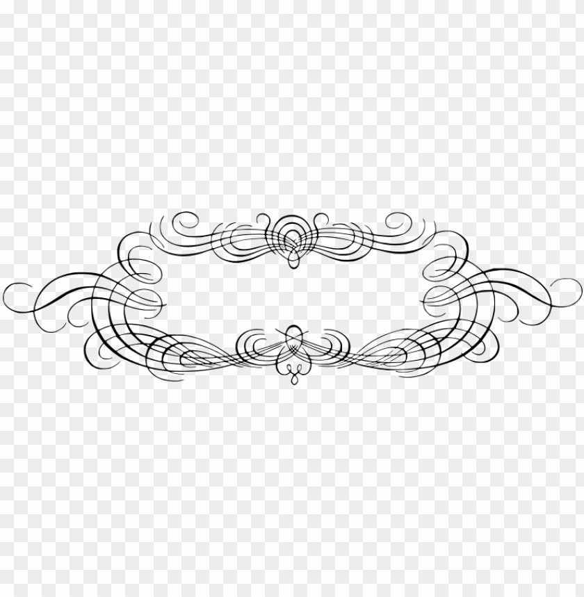 free PNG free floral decorative frame border free vintage calligraphy - vintage calligraphy frame PNG image with transparent background PNG images transparent