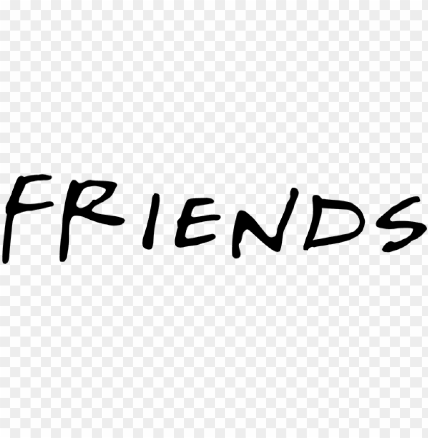 free PNG free fonts from famous tv shows including titles, logos, - friends icon transparent background PNG image with transparent background PNG images transparent