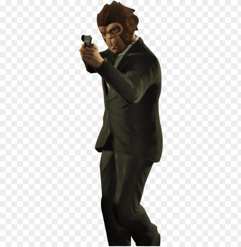 free gta 5 online logo png - gta 5 monkey PNG image with transparent background@toppng.com