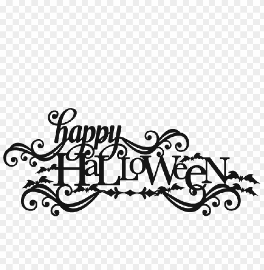 Free Halloween Svg Cutting Files Png Image With Transparent Background Toppng