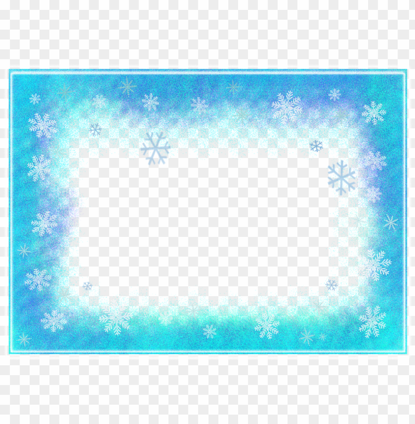 free PNG free ilration frame winter flakes snow icing image - border PNG image with transparent background PNG images transparent