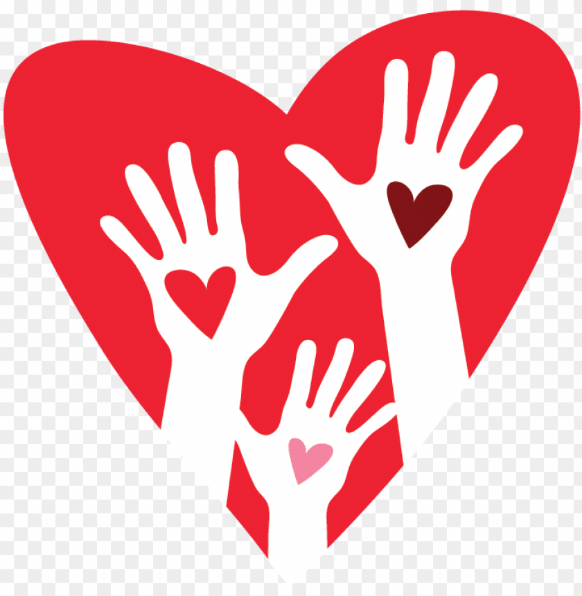 free PNG free logo creator make - hands and heart logo PNG image with transparent background PNG images transparent