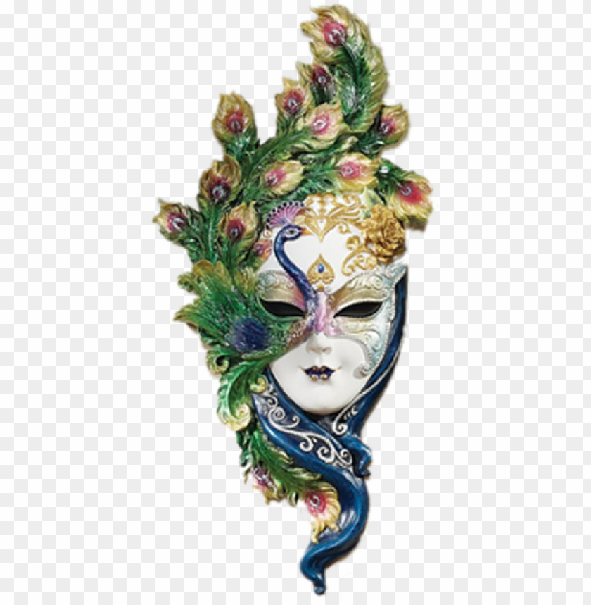 free PNG free mascaras de teatro png - design toscano mask of venice wall sculpture: peacock PNG image with transparent background PNG images transparent