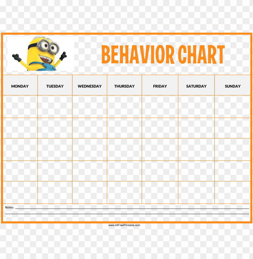 free PNG free minions behaviour chart templates at with behavior - free incentive charts printable PNG image with transparent background PNG images transparent
