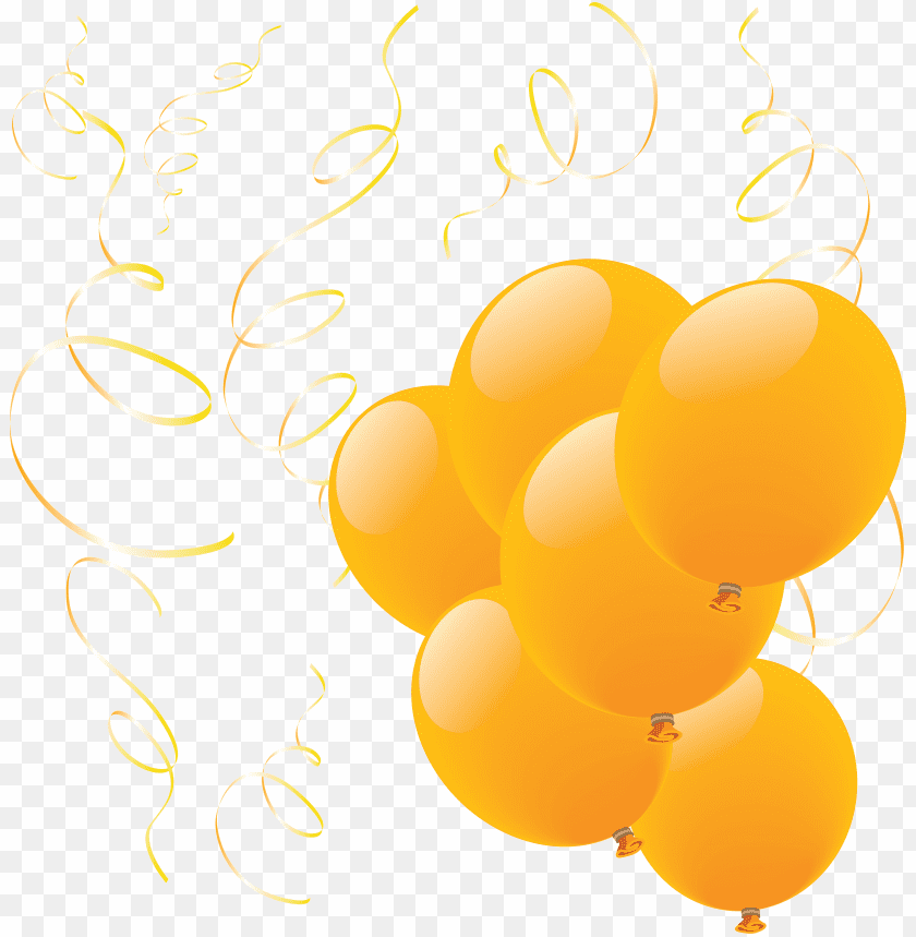 free PNG Download Balloon Yellow Group png images background PNG images transparent