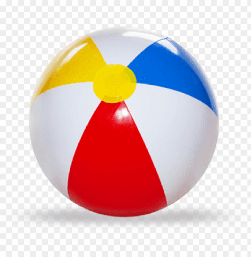 free PNG Download Beach Ball White Red Blue png images background PNG images transparent