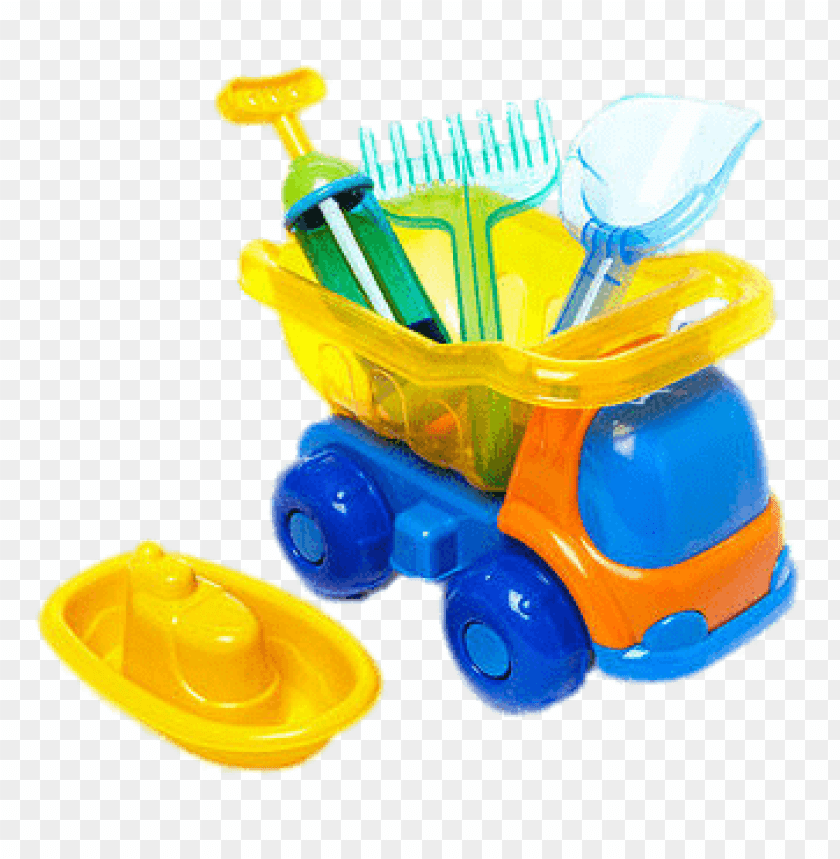 free PNG Download Beach Toys and Truck png images background PNG images transparent