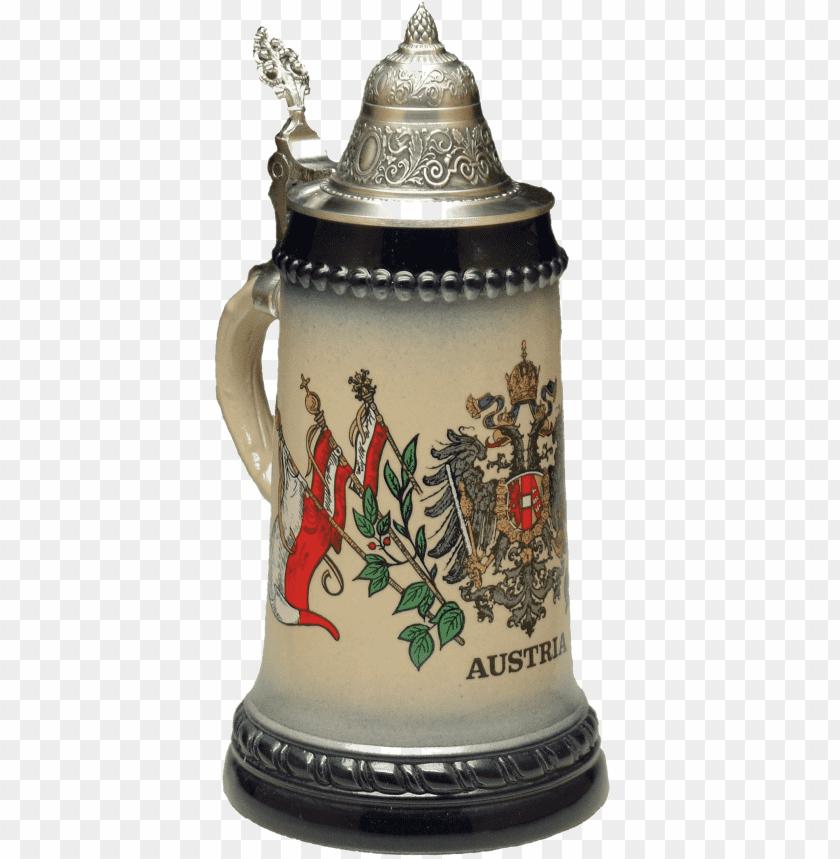 free PNG Download beer Mug Austrian Symbols png images background PNG images transparent