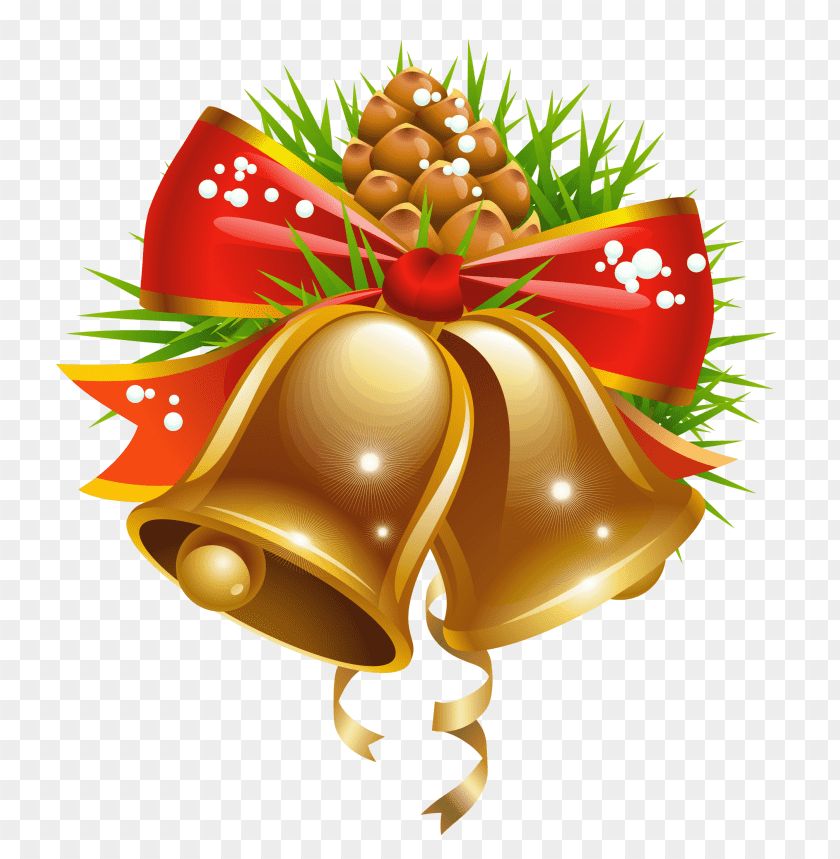 Download Bell Christmas Decoration png images background@toppng.com