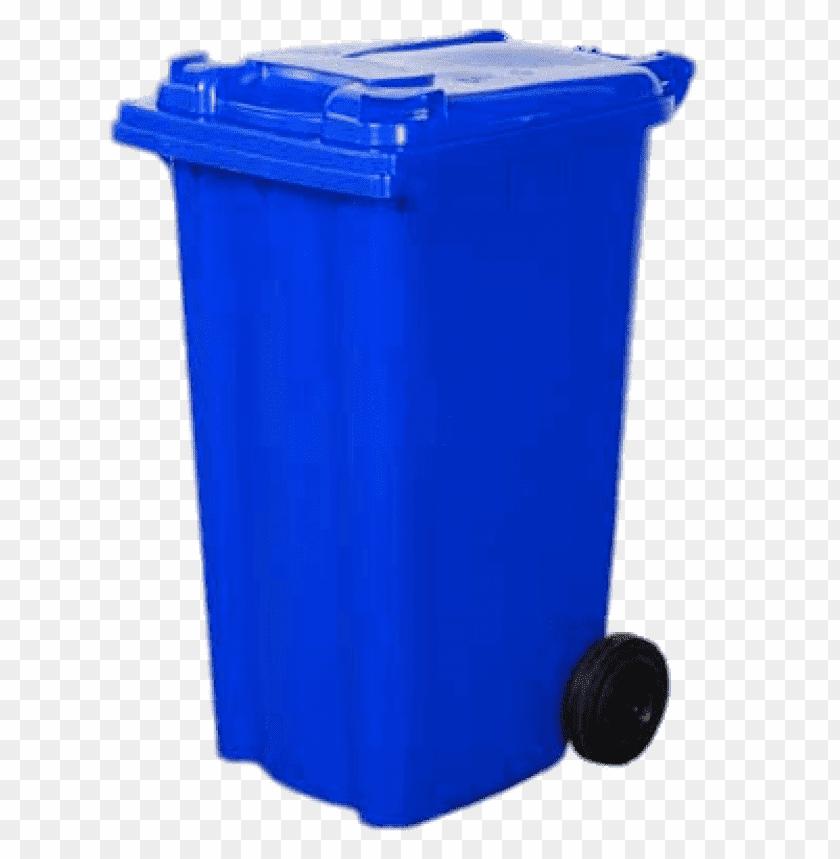 free PNG Download Bin Wheelie Blue png images background PNG images transparent